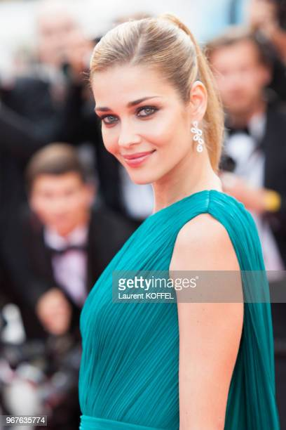 Ana Beatriz attends the 'The Unknown Girl ' premiere during the 69th annual Cannes Film Festival on May 18 2016 in Cannes France