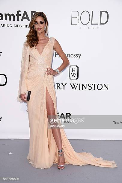 Ana Beatriz Barros arrives at amfAR's 23rd Cinema Against AIDS Gala at Hotel du CapEdenRoc on May 19 2016 in Cap d'Antibes France