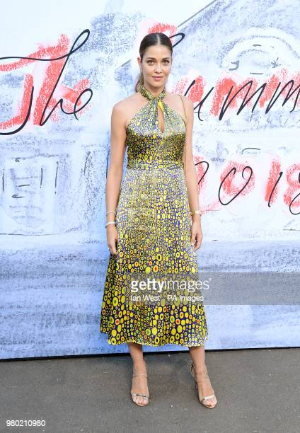 Ana Beatriz Barros attending the Serpentine Summer Party 2018 held at the Serpentine Galleries Pavilion Kensington Gardens London PRESS ASSOCIATION...