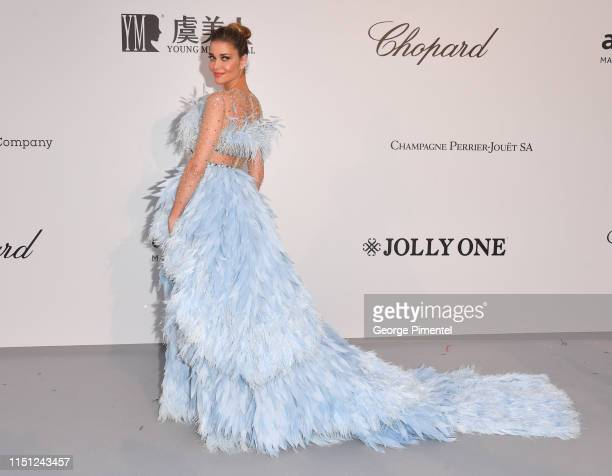 Ana Beatriz Barros attends the amfAR Cannes Gala 2019 at Hotel du Cap-Eden-Roc on May 23, 2019 in Cap d'Antibes, France.