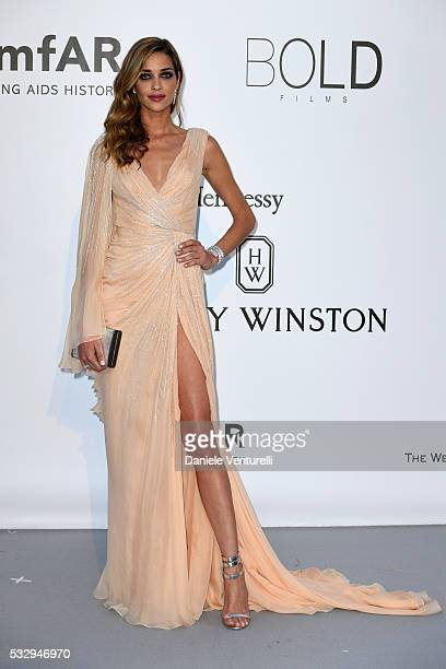 Ana Beatriz Barros attends the amfAR's 23rd Cinema Against AIDS Gala at Hotel du CapEdenRoc on May 19 2016 in Cap d'Antibes France