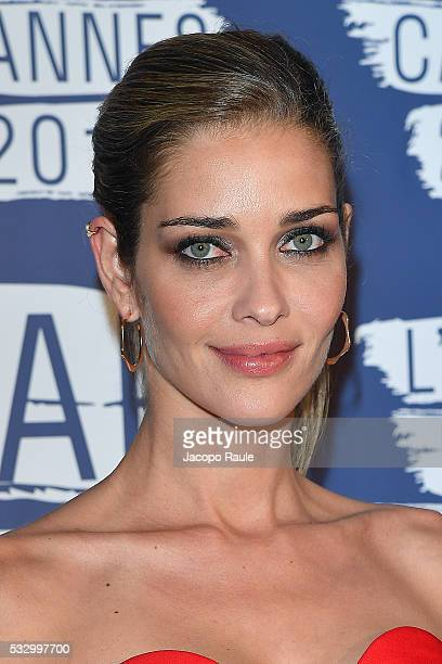 Ana Beatriz Barros attends the L'Oreal Paris Blue Obsession Party during the 69th annual Cannes Film Festival on May 18 2016 in Cannes France