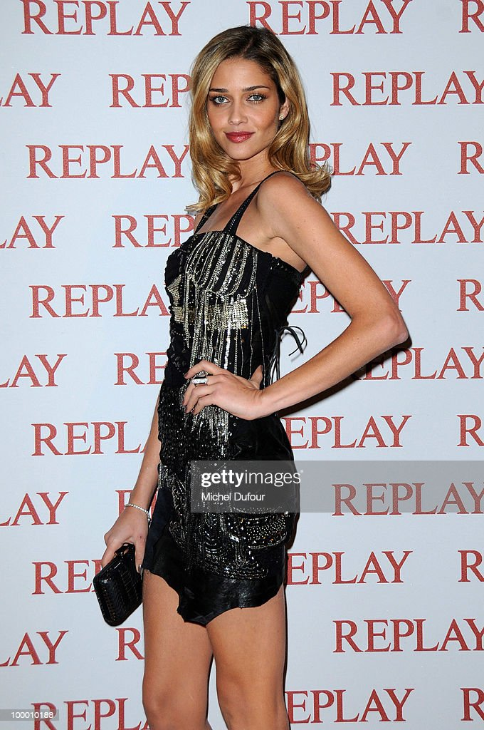 Ana Beatriz Barros attends the Replay Party during the 63rd Cannes Film Festival on May 19, 2010 in Cannes, France.