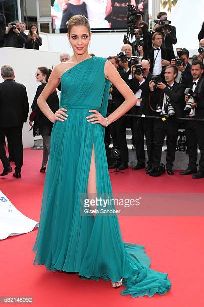 Ana Beatriz Barros attends 'The Unknown Girl ' Premiere during the 69th annual Cannes Film Festival at the Palais des Festivals on May 18 2016 in...