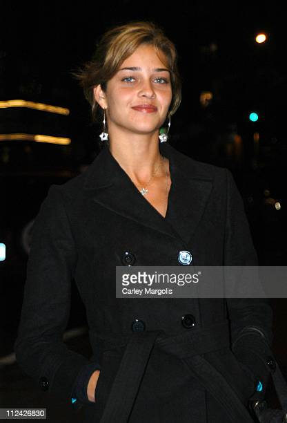 Ana Beatriz Barros during Usher's 26th Birthday Party at Rainbow Room in New York City New York United States