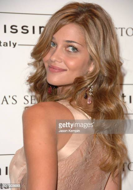 Ana Beatriz Barros during Victoria's Secret Launches Intimissimi Boutique With Model Ana Beatriz Barros October 4 2006 at Victoria's Secret Herald...