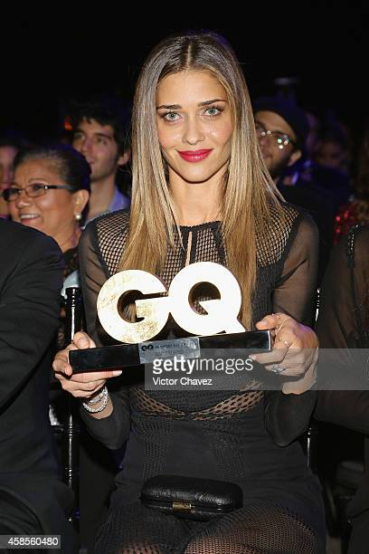 Ana Beatriz Barros winner of International Model of The Year attends GQ Men Of The Year Awards 2014 on November 6 2014 in Mexico City Mexico