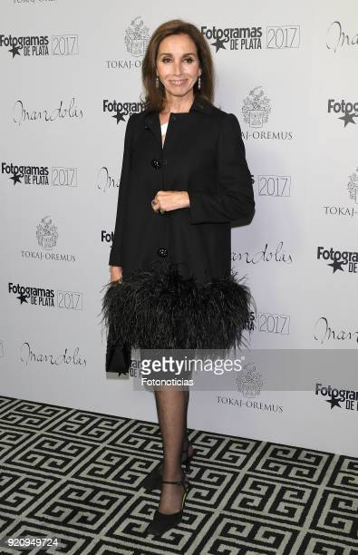 Ana Belen attends the 'Fotogramas de Plata' awards candidates dinner at The Santo Mauro Hotel on February 19 2018 in Madrid Spain
