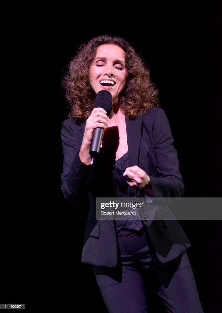 Ana Belen Performs In Concert In Barcelona