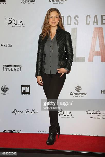 Ana Belena attends 'A La Mala' Mexico City premiere at Cinepolis Antara Polanco on February 24 2015 in Mexico City Mexico