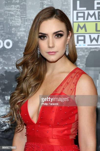 Ana Belena attends the 2017 Latin American Music Awards Press Room at Dolby Theatre on October 26 2017 in Hollywood California