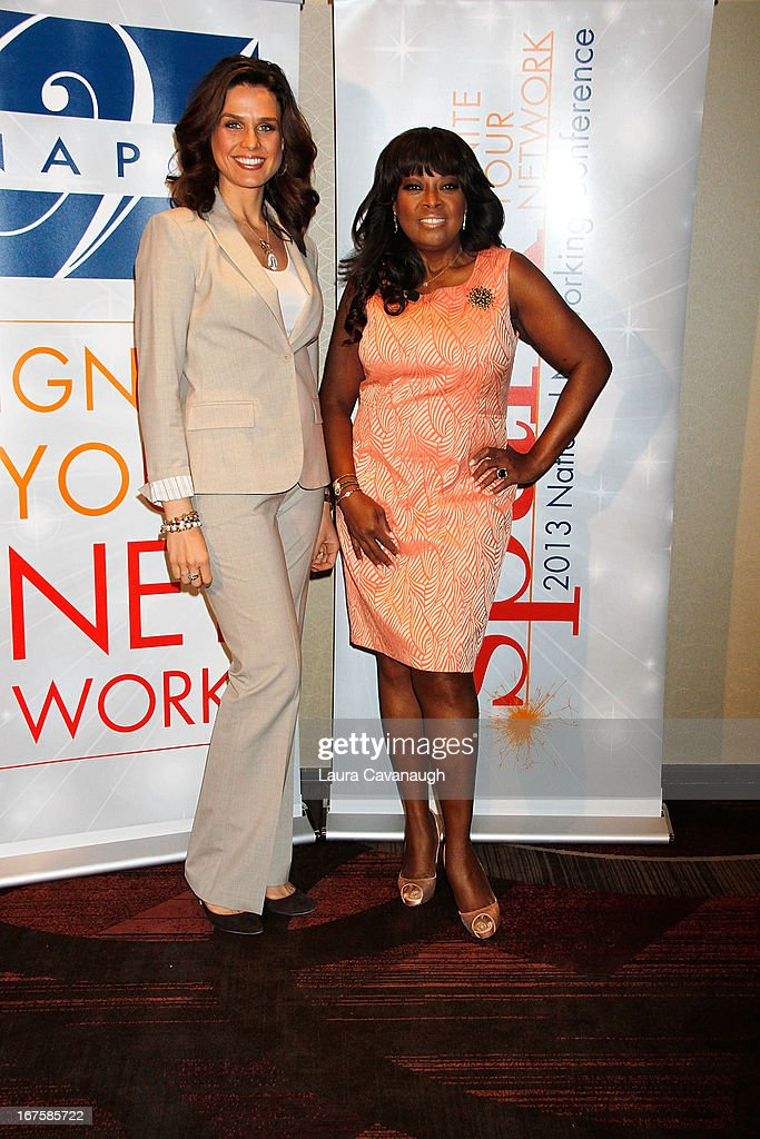 Ana Berry and Star Jones attend the 2013 Spark. Ignite Your Network conference at the Sheraton New York Hotel & Towers on April 26, 2013 in New York City.