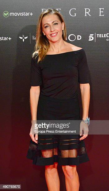 Ana Blanco attends 'Regression' premiere on September 30 2015 in Madrid Spain