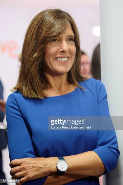 Ana Blanco attends the presentation of the new season of TVE News on September 4 2017 in Madrid Spain