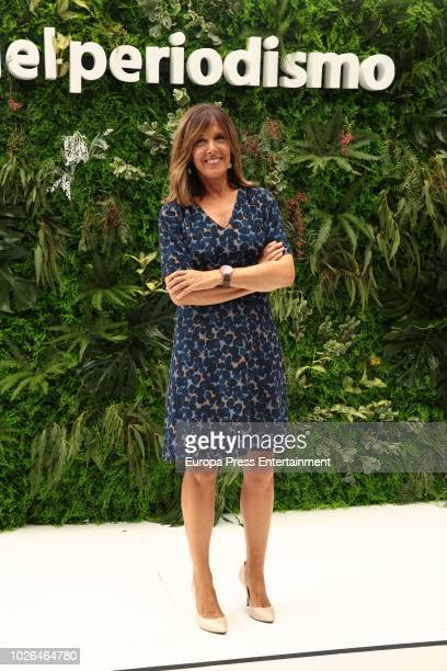 Ana Blanco attends the RTVE News team presentation on September 3 2018 in Madrid Spain
