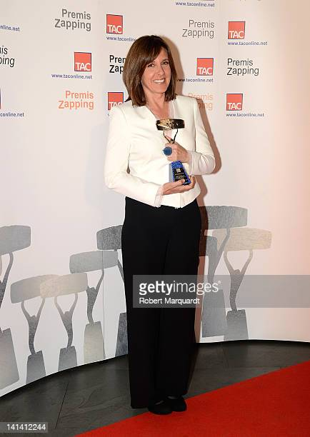 Ana Blanco attends the Zapping Awards 2012 at the Palau de Congressos de Catalunya on March 15 2012 in Barcelona Spain