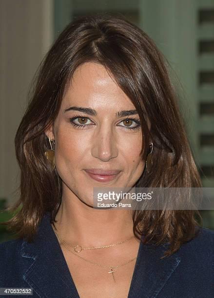 Ana Bono attends Patricia Perez's new book 'Yo si que cocino' press conference at Navarro herbalist on April 21 2015 in Madrid Spain
