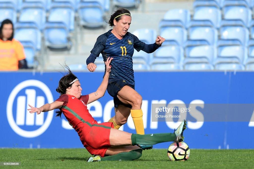 Portugal v Australia - Algarve Cup
