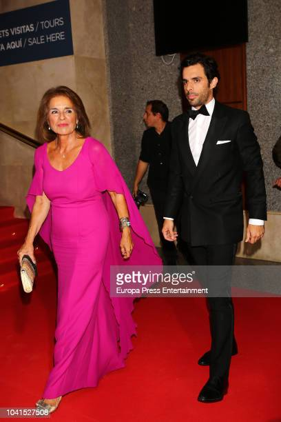 Ana Botella and Alonso Aznar attend 'Personality of the Year' Awards at Royal Theatre on September 26 2018 in Madrid Spain
