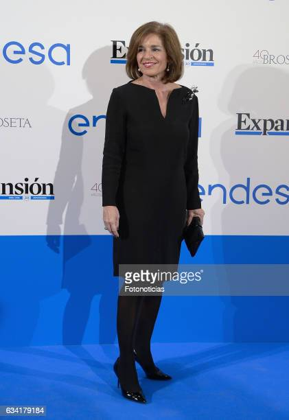 Ana Botella attends 'Expansion' newspaper 30th anniversary dinner at the Palace Hotel on February 7 2017 in Madrid Spain