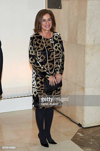 Ana Botella attends the 'Mariano De Cavia' awards on December 10 2015 in Madrid Spain