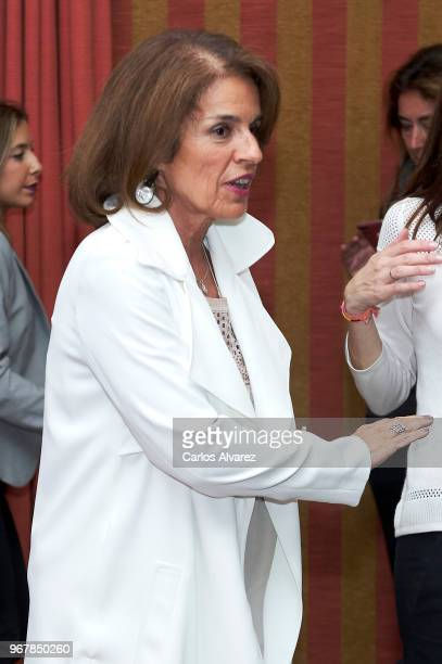 Ana Botella attends the presentation of 'No Hay Ala Oeste En La Moncloa' new book at the Next Academy on June 5 2018 in Madrid Spain