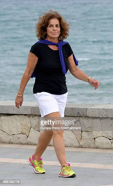 Ana Botella is seen on November 14 2015 in Marbella Spain