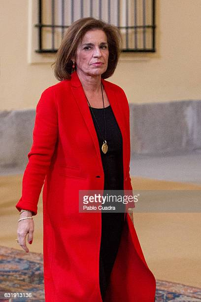 Ana Botella promotes the International Year of Sustainable Tourism for Development 2017 at 'El Pardo' Palace on January 17 2017 in Madrid Spain