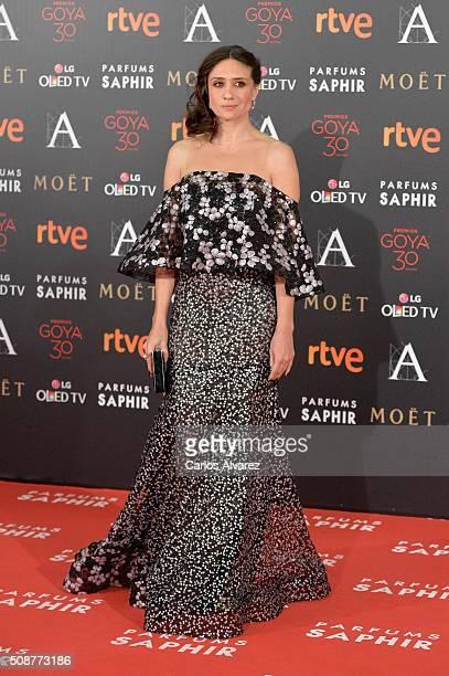 Ana Botto attends Goya Cinema Awards 2016 at Madrid Marriott Auditorium on February 6 2016 in Madrid Spain
