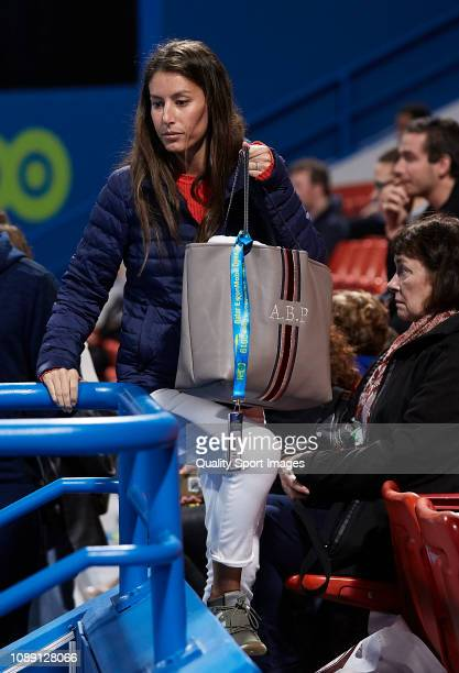 Ana Boyer attends day three of the ATP Qatar ExxonMobil Open at Khalifa International Tennis and Squash Complex on January 02 2019 in Doha Qatar
