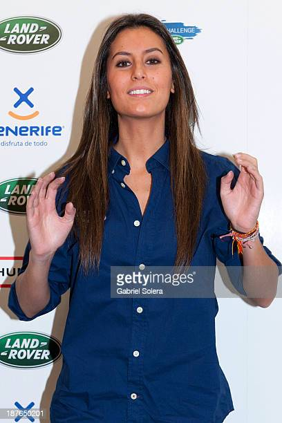Ana Boyer attends III Land Rover Discovery Challenge 2013 at Barajas Airport on November 11 2013 in Madrid Spain