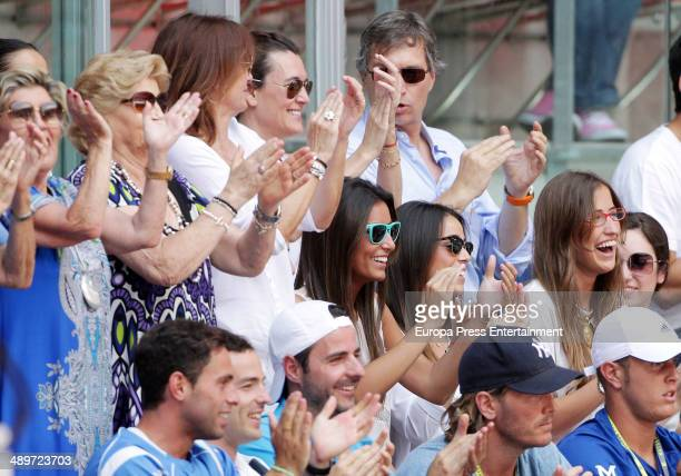 Ana Boyer attends Mutua Madrid Open at La Caja Magica on May 10, 2014 in Madrid, Spain.