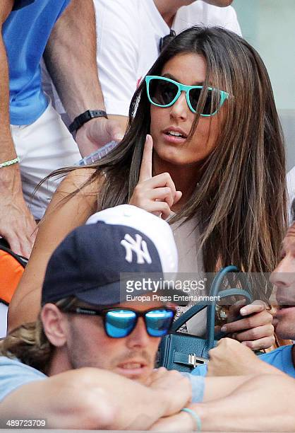 Ana Boyer attends Mutua Madrid Open at La Caja Magica on May 10 2014 in Madrid Spain