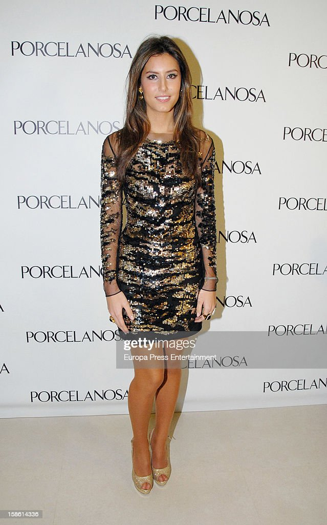 Ana Boyer attends the Porcelanosa new store opening on December 20, 2012 in Seville, Spain.