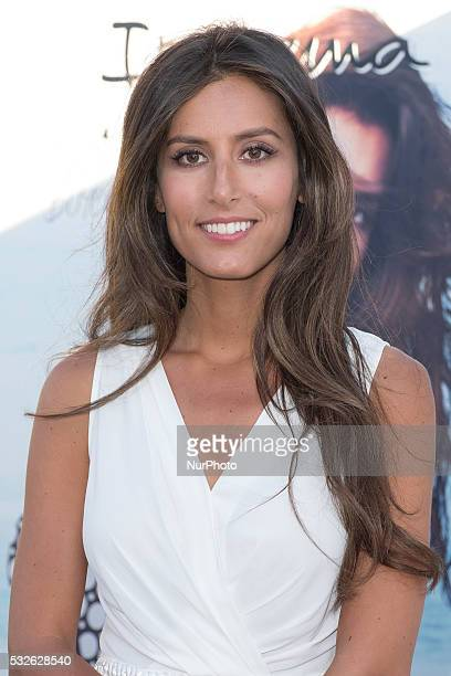 Ana Boyer attends the presentation of the new collection of the brand Ipanema on May 18 2016 in Madrid Spain