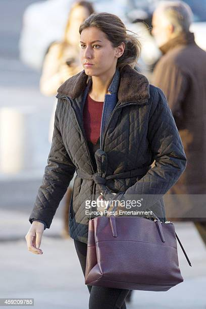 Ana Boyer is seen arriving at work on December 13 2013 in Madrid Spain