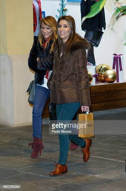 Ana Boyer is seen at 'Las Rozas Village' on December 10 2014 in Madrid Spain