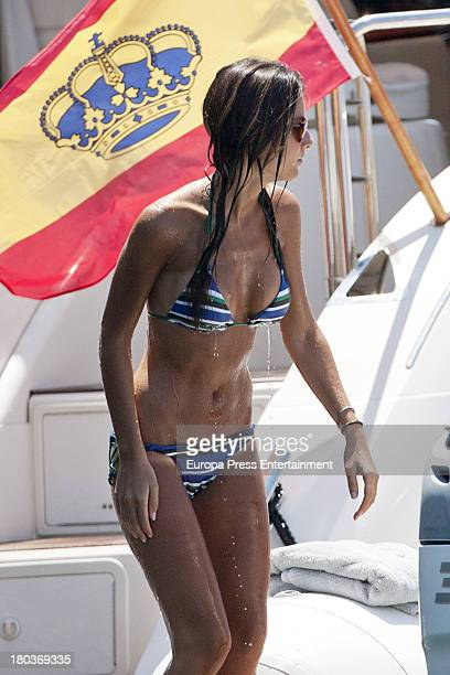 Ana Boyer is seen on July 25 2013 in Ibiza Spain