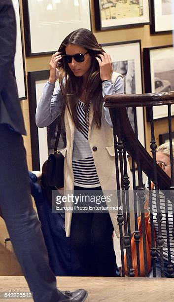 Ana Boyer is seen on May 4 2016 in Madrid Spain
