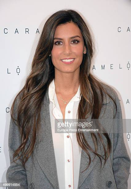 Ana Boyer presents the Christmas Party by Caramelo on December 3 2015 in Madrid Spain
