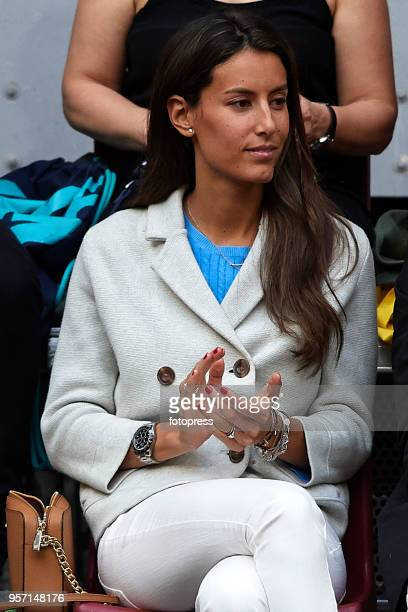Ana Boyer Preysler attend day six of the Mutua Madrid Open at La Caja Magica on May 10 2018 in Madrid Spain