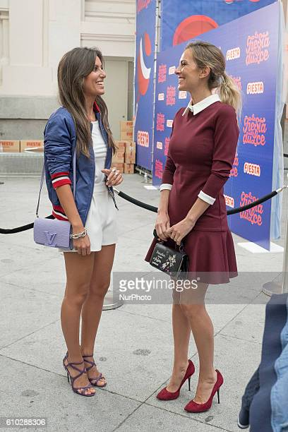 Ana Boyer Preysler attends the photocall candy Fiesta in the palace of Cibeles in Madrid spain September 25 2016