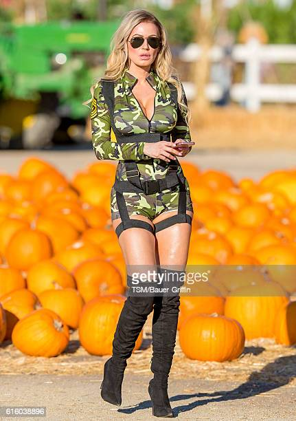 Ana Braga is seen on October 20 2016 in Los Angeles California