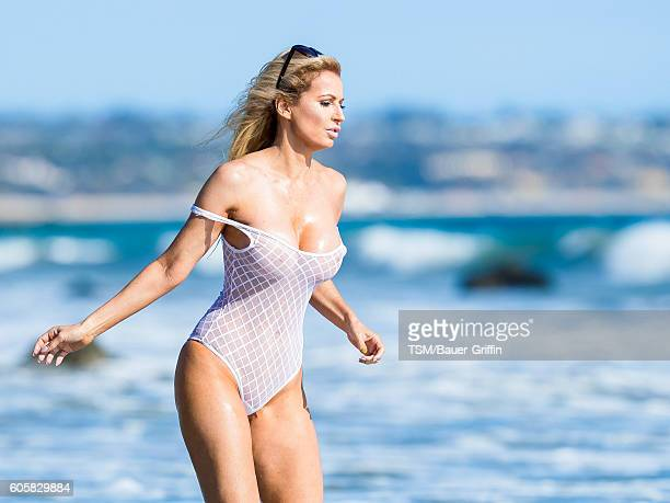 Ana Braga is seen on September 14 2016 in Los Angeles California