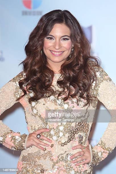 Ana Brenda Contreras arrives at Univision's Premios Juventud Awards at Bank United Center on July 19 2012 in Miami Florida
