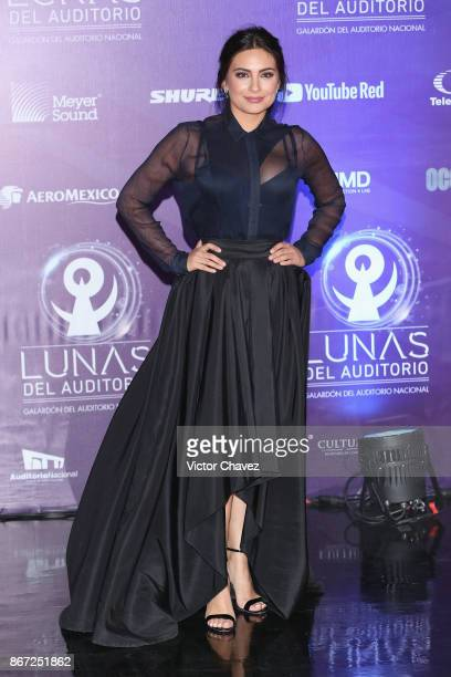Ana Brenda Contreras attends Las Lunas del Auditorio Nacional 2017 at Auditorio Nacional on October 25 2017 in Mexico City Mexico