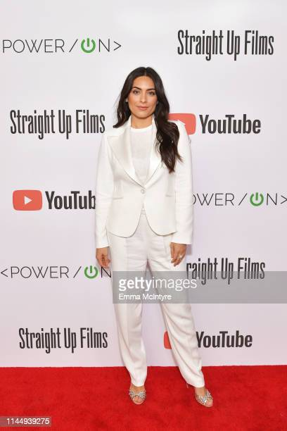 Ana Brenda Contreras attends Power On Premiere By Straight Up Films With Support From YouTube at Google Playa Vista Office on April 24 2019 in Playa...