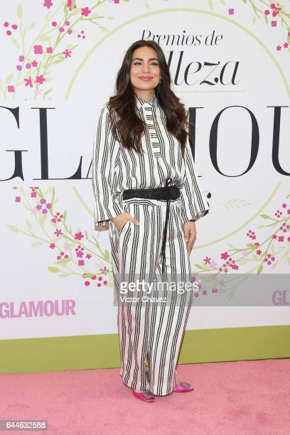 Ana Brenda Contreras attends the Glamour Mexico magazine Beauty Awards 2016 at Jardin Versal on February 23 2017 in Mexico City Mexico