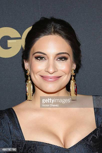 Ana Brenda Contreras attends the GQ Mexico Men of The Year 2015 awards at Live Aqua Bosques hotel on November 4 2015 in Mexico City Mexico