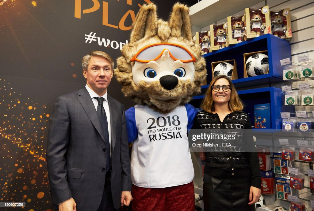 2018 FIFA World Cup Russia Official Store Opening